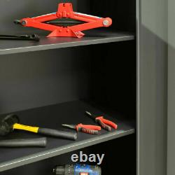 Professional Mechanics 11 large workshop Steel Cabinet Set Garage Tool Storage
