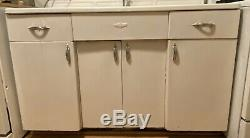 Retro Youngstown Kitchen 6 Piece Set With Steel Cabinets And Enamel Sink