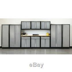 SANDUSKY AS11-MG09 Modular Cabinet Set, 210 Overall Width
