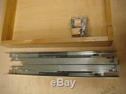 Set Of 2 Kraftmaid 2424 Delux Roll Out Tray WILL FIT MOST BRAND CABINETS