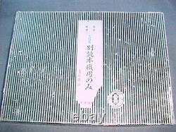 Set of 10 Iyoroi Blue Steel Umeki-Oire Nomi Cabinet Makers' Chisels FINE cond