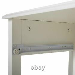 Set of 2 Bed End Table Nightstand Bedside Table Storage Cabinet with Drawer