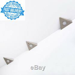 Set of 3 x SO-TECH Triangle Under Cabinet LED Light/Shelf Kitchen