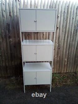 Small Office Home- Home Office Steel Stackable Cabinets Set of Three