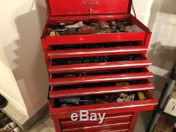 Snap-On 26 Tool Box set Top Chest KRA2055 and Roller Cabinet KRA2007 NICE