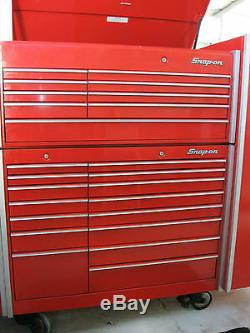 Snap on Snapon Snap-on KR1200 KR1000C Nice used Chest and cabinet 2 piece set