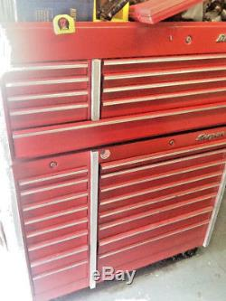 Snap-on Snapon tools Chest and lower cabinet Set KR690 KR560 Nice used wear