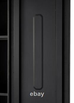 TRINITY PRO TSNPBK-0614 8-Piece Garage Cabinet Set Black