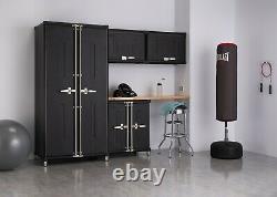 TRINITY PRO TSNPBK-0616 5-Piece Garage Cabinet Set Black