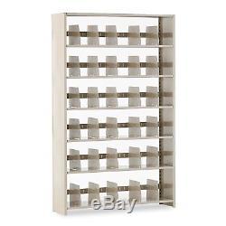 Tennsco Snap-Together Steel Six-Shelf Closed File Cabinet Starter Set