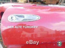Türgriffe Türgriff Alfa Romeo Spider 105/115 1970-93 Satz Links Rechts Chrom Neu