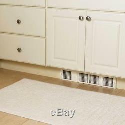Under Cabinet Heater White Electric Indoor 1 Heat Setting 1000 Watt 240 Volt
