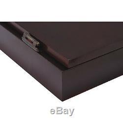 Viper Metropolitan Steel Tip Dartboard Cabinet Set Mahogany Finish