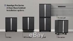 Warehouse Steel Cabinet Set Workshop 10PC Car Garage Storage Furniture Kit RED