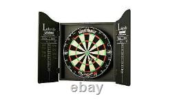 Winmau Blade 5 Championship Dartboard, Cabinet & Darts Sets