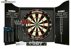 Winmau Blade 5 Dart Board Championship Dartboard, Cabinet & Darts Sets