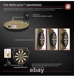 Winmau Championship Dartboard, Darts & Cabinet Full Set Blade 5 Professional