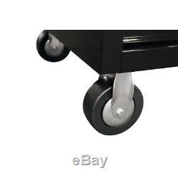 10 Tiroir Profond Combinaison Coffre À Outils Et Set Cabinet Rolling In Black Gloss
