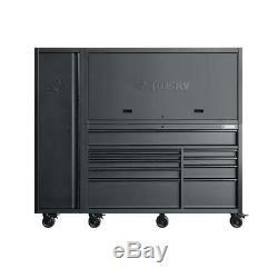 10-tiroir Profond Combinaison Coffre À Outils Et Set Cabinet Roulant (3 Pièces)