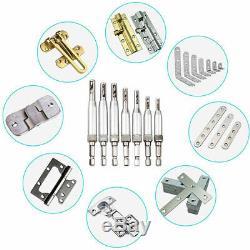 10xself Centering Mèche Set (15pcs) Drill Bit Door Cabinet Hinge 1 / 4inc J8q9