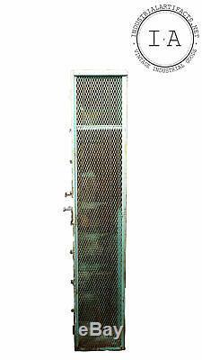 1960 Vintage Locker Steel Set Par Produits De Qualité Supérieure Et De Fil De Fer