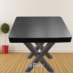 23.6x28.3table Table X-style Black Ensemble De 2 Pieds Armoire De Bureau Avec Canapé