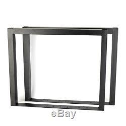 24metal Table Pieds De Bureau De Bureau Pour Les Jambes Table À Manger Bureau Cabinet 2pc / Set