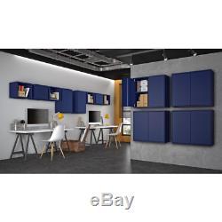 25,19 Intelligent En. H X 13,77 À. W X 11,22. D Cabinet Flottante En Bleu Set De 2