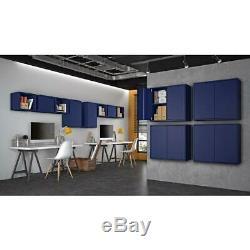 25,19 Intelligent En. H X 13,77 X 11,22 W D Cabinet Flottant Dans Set Bleu
