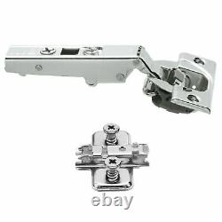 40x Blumotion Blum 71b3550 Soft Close Screw-on Cabinet Hinge Set 110° Clip Top
