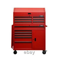 44 P. 100. W 12-drawer Deep Combination Tool Chest And Rolling Cabinet Set In Matte