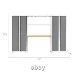 4 Pièces Newage Bold 3.0 Série Garage Entreposage Cabinet Verrouillable Set D'atelier Nouveau
