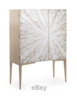 60 T Cabinet Unique En Son Genre Peint Motif Céleste Off Set Portes Modernes