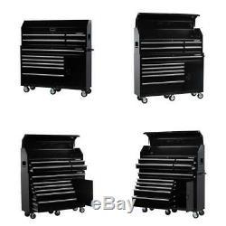 61 Dans. W 10 Tiroir 1 Combinaison Porte Coffre À Outils Roulant Cabinet Set Brillant