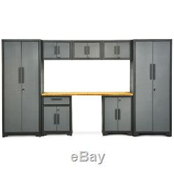 8 Pcs Garage Débarassas Cabinet