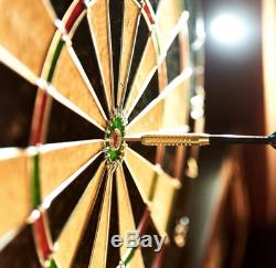 Armoire À Jeux De Fléchettes Jeu De 6 Jeux De Fléchettes À Pointe En Acier Avec Fléchettes En Acier
