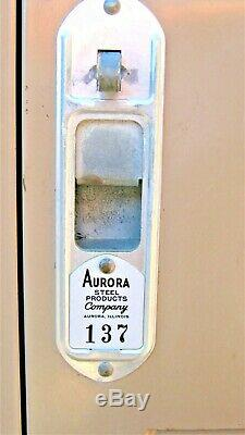 Aurora Steel Products Ensemble De Casiers-8 Cellules-74.5hx48wx21deep-lockable-sturdy