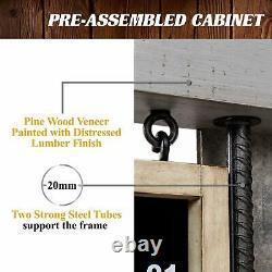 Barrington Prescott Collection Dartboard Cabinet Set Led Lights Steel Tip Darts