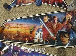 Brand New Williams Star Wars Episode 1 Cabinet Set