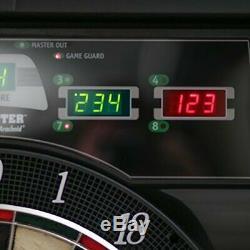 Bullshooter Cricket Maxx 5.0 Jeu De Fléchettes Électronique Ensemble Cabinet Comprend 6 Acier