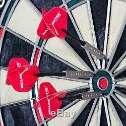Bullshooter Cricketmaxx Série Jeu De Fléchettes Électronique Cabinet Rég Lire Acier Ou