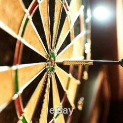 Cabinet Conseil 6 Jeu De Fléchettes En Acier Darts Fléchettes Led Set 40 Pouces Mark Gomme