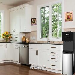 Cabinet En Acier À Réglage De Température Du Distributeur 3 De Refroidisseur D'eau À Chargement Par Le Bas D'avalon