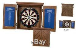 Charleston Bristle Cabinet Dartboard L'ensemble Comprend 18 Dartboard Et 6 En Acier T