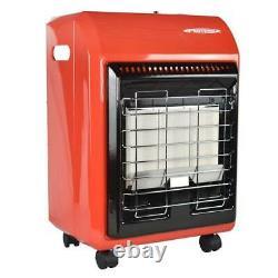 Chauffe-espace Propane 18 000 Btu Radiant Portable Cabinet 3 Réglages Thermiques