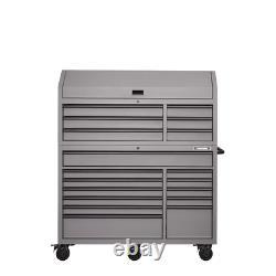 Coffre À Outils Grand Et Coffret, Heavy-duty 56 Dans W 18-drawer Combination, Gray
