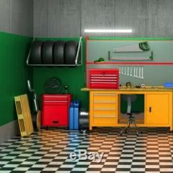 Coffre À Outils Roulant Cabinet Préleveurs Combo Garage Box Set Mécanicien Organisateur Kit