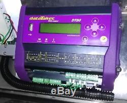 Datataker Dt80 Enregistreur De Données, Configuration Complète Dans Une Armoire En Acier Inoxydable