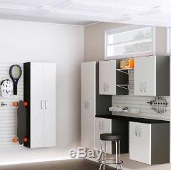 Débit Mur 7 Pièces De Luxe Garage Cabinet Set De Montage Mural, Nouveau Navire De L'usine