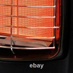 Dyna-glo 18k Btu Portable Heater Propane Armoire À Gaz Chaud 600 Pieds Carrés 3 Réglages
